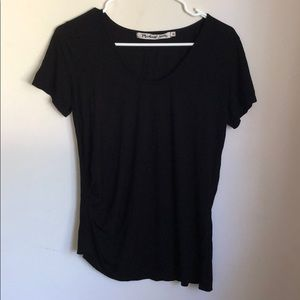 Michael Stars Side Ruched T-shirt